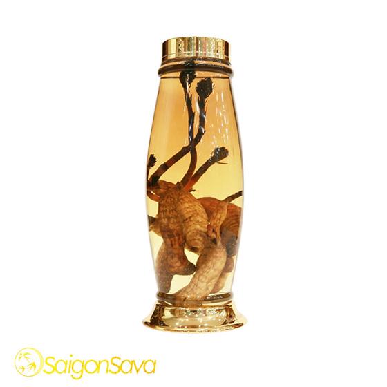Bình thủy tinh ngâm rượu Hàn Quốc (BTT-HQ024)