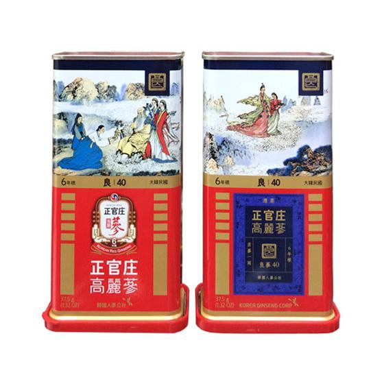 Hồng sâm củ khô 37,5G – 40PCS (2 củ) Cheong Kwan Jang