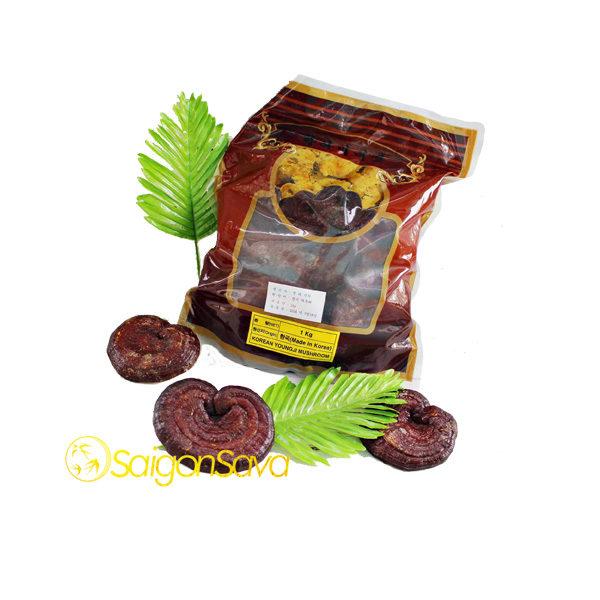 Nấm linh chi đỏ núi đá Hàn Quốc 1 kg nấm thiên nhiên