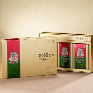 Nước Hồng Sâm - Tonic Gold 30 túi x 40ml