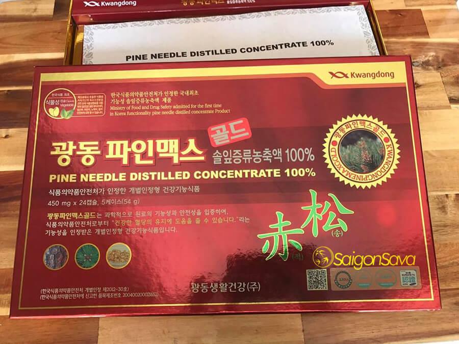 Tinh dầu thông đỏ Hàn Quốc Kwangdong