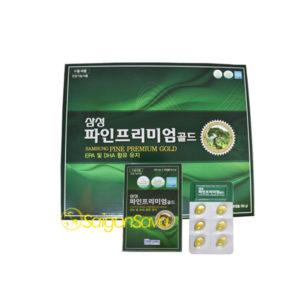 Tinh dầu thông đỏ Samsung Pine Premium Gold 180 viên