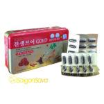 Viên sâm nhung linh chi Hàn Quốc Gold hộp 120 viên - Dongwon