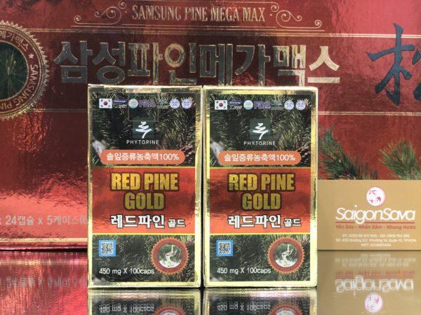 viên tinh dầu thông đỏ red pine gold