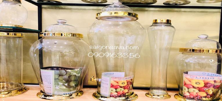 Top 3 mẫu bình thủy tinh ngâm rượu giá rẻ tại SaiGonSava