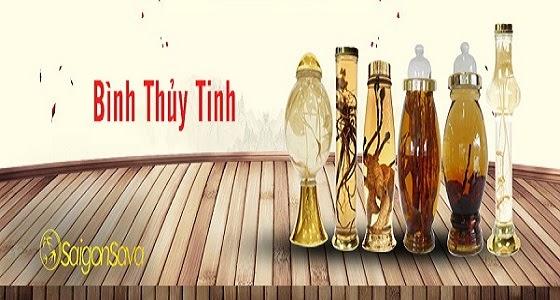 Bình thủy tinh ngâm rượu nhập khẩu chất lượng SaiGonSava