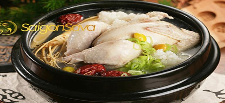 Cách nấu gà hầm Nhân Sâm ngon đúng kiểu Hàn Quốc