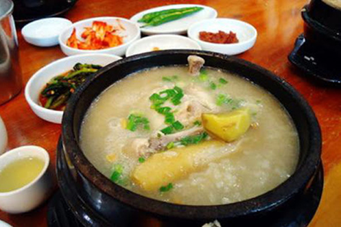 Cháo gà Nhân Sâm tươi ngon đúng chuẩn Hàn Quốc!