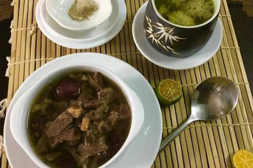 """""""Món ăn độc đáo – bồi bổ sức khỏe"""": Tim heo tiềm Nhân Sâm Hàn Quốc"""