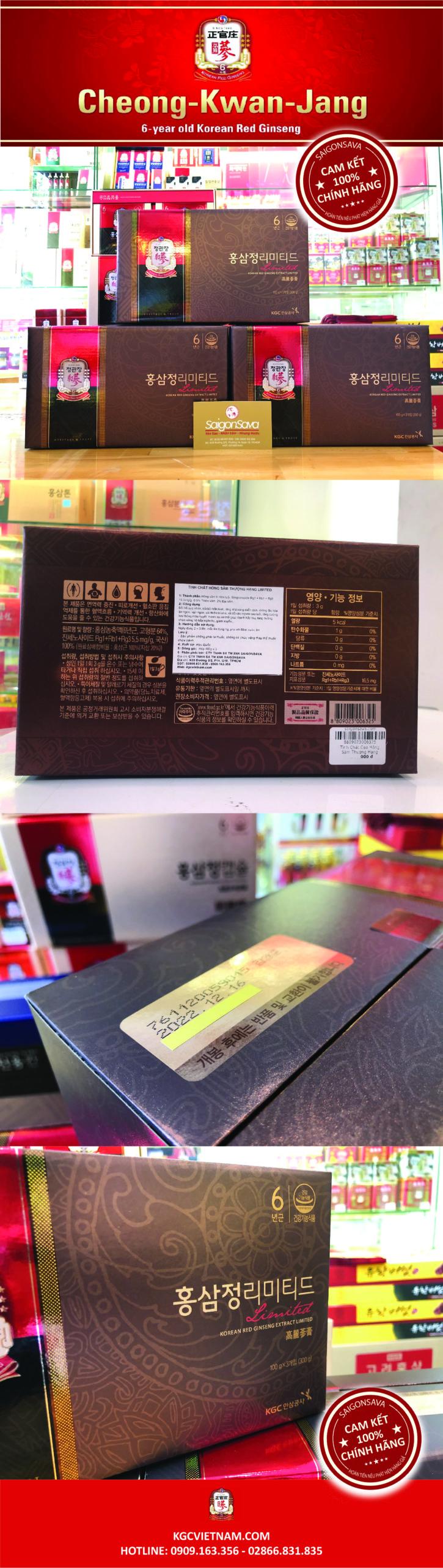 tinh chất hồng sâm thượng hạng kgc limited