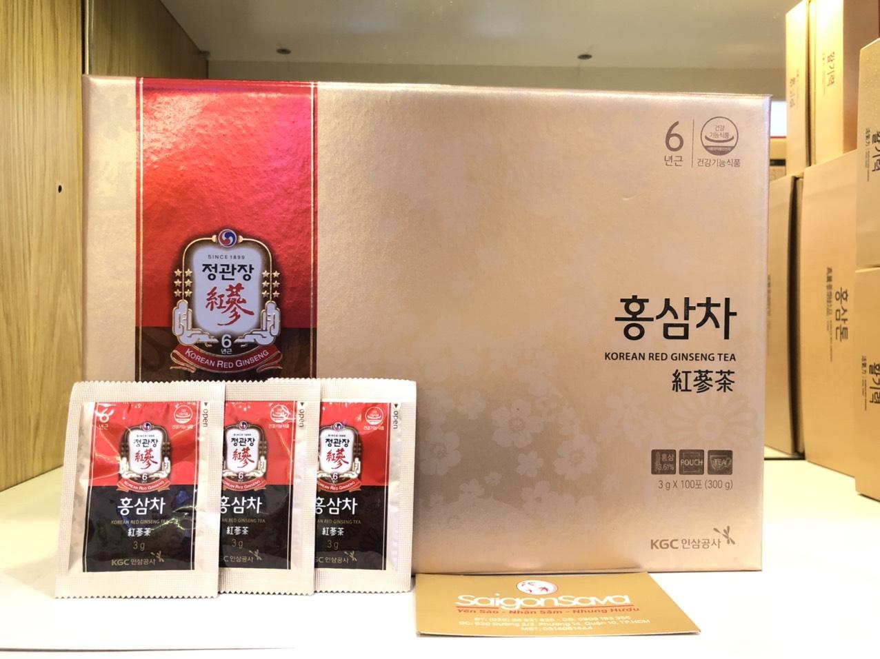 trà hồng sâm KGC 100 gói