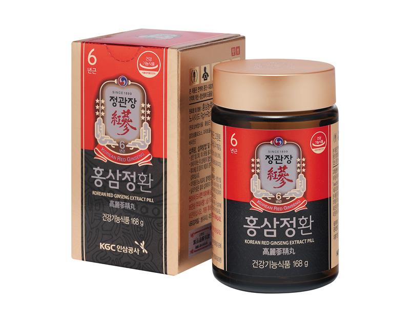 viên hồng sâm kgc extract pill 168g