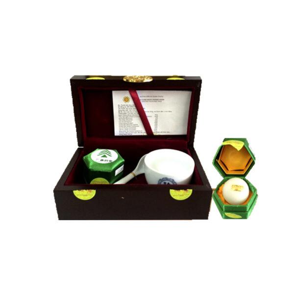 an cung ngưu hoàng hoàn rùa vàng hộp 1 viên