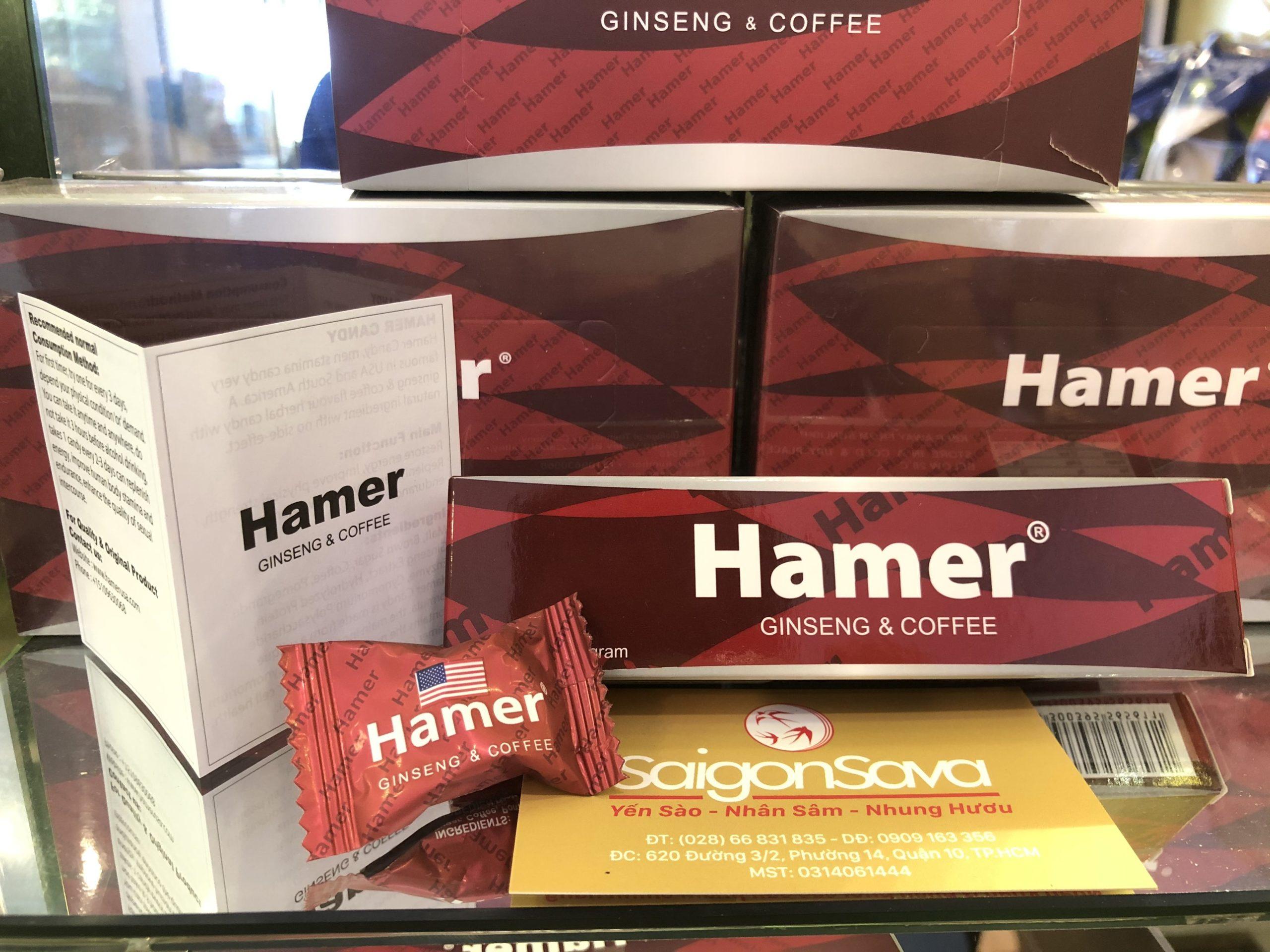 Kẹo Sâm Hamer Mỹ Bán Ở Đâu?