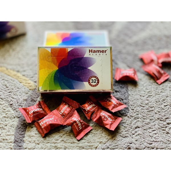 kẹo sâm hamer malaysia mới hộp 7 màu