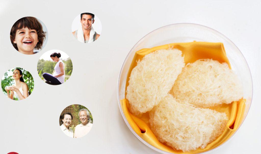 Tăng cường sức khỏe nhờ ăn các món ăn từ yến