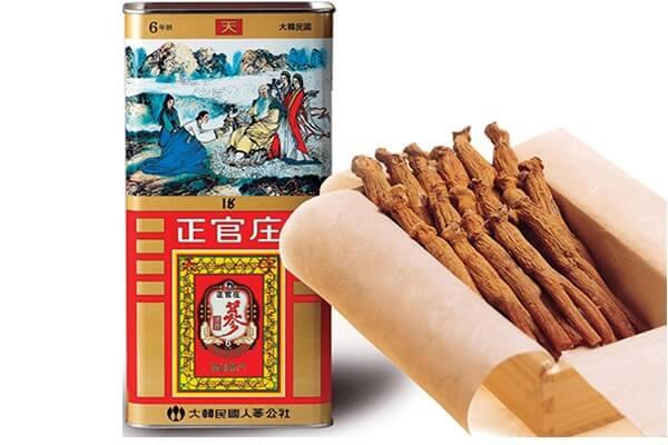 Thiên sâm Hàn Quốc – sản phẩm hồng sâm cao cấp