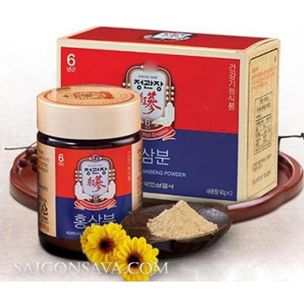 Sâm bột Hàn Quốc – Sản phẩm tốt cho sức khỏe