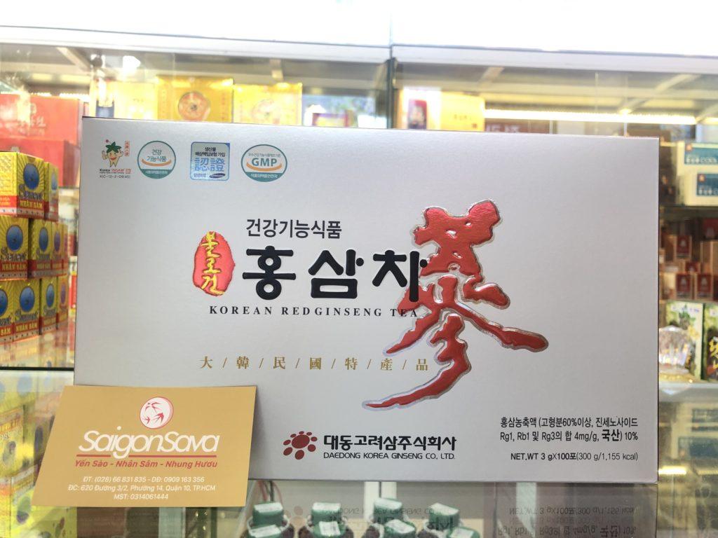 Trà hồng sâm Daedong Hàn Quốc cao cấp 100