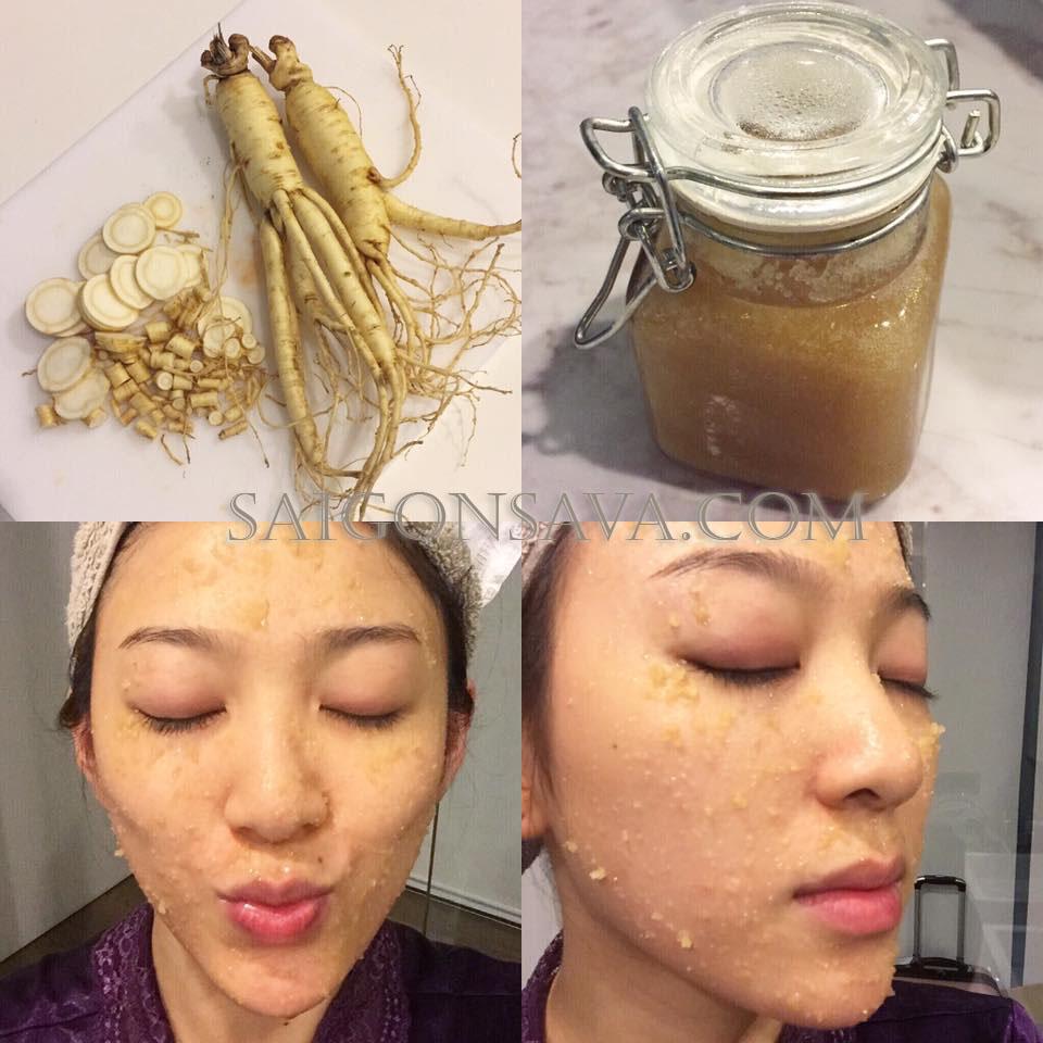 Sâm bột Hàn Quốc có công dụng quan trọng trong làm đẹp, cải tạo làn da