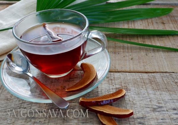 Cách pha trà nấm linh chi nguyên chất
