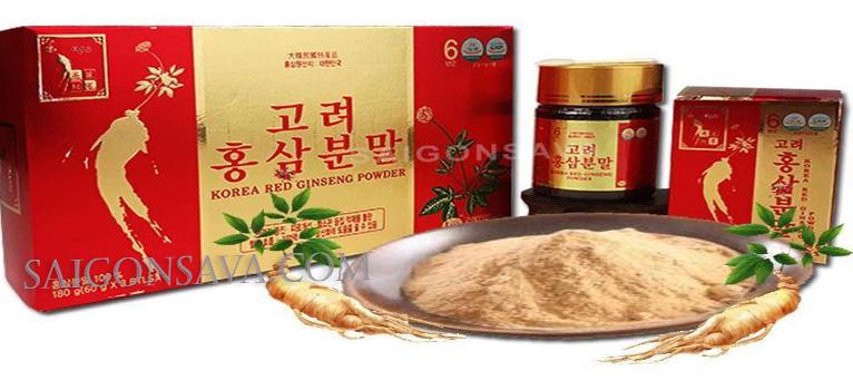 Cách uống bột sâm Hàn Quốc để cho hiệu quả tốt đối với sức khỏe?