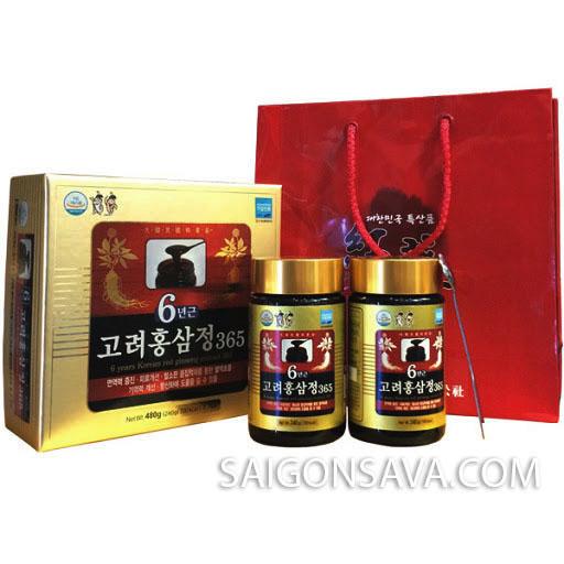 Cao hồng sâm Hàn Quốc được chế biến từ hồng sâm Hàn Quốc cao cấp chất lượng