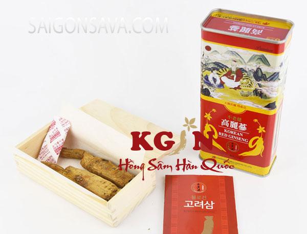 Sản phẩm sâm củ khô Hàn Quốc cao cấp, giàu dinh dưỡng