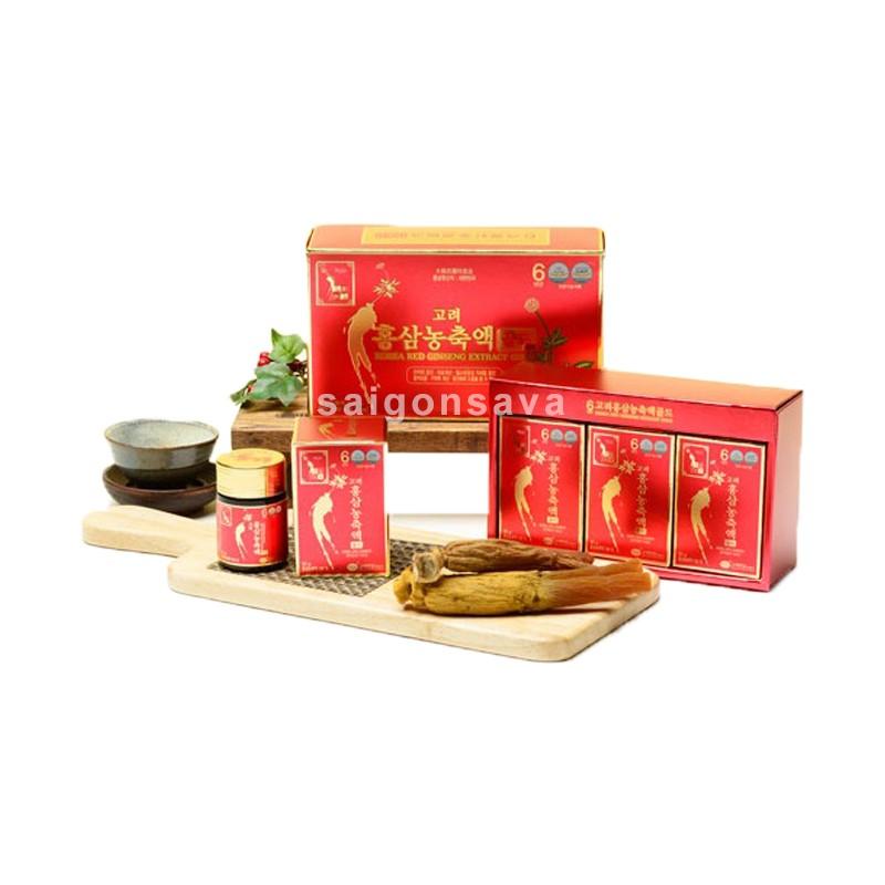 Cao hồng sâm Hàn Quốc, sản phẩm dinh dưỡng tốt cho sức khỏe của người dùng
