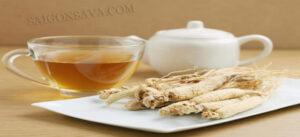 Uống trà sâm đúng cách để mang lại hiệu quả