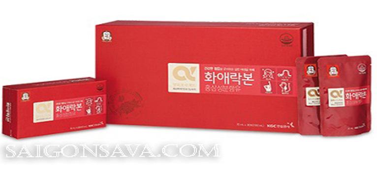 Nước hồng sâm Hàn Quốc dành cho phái đẹp