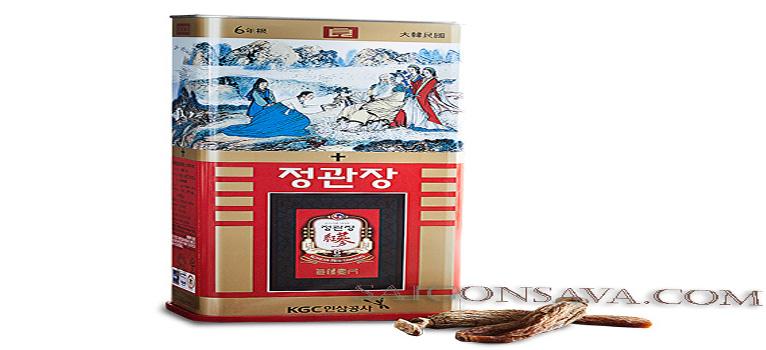 Công dụng và cách dùng của sâm củ khô chính phủ Hàn Quốc Cheong Kwan Jang rất tốt cho sức khỏe