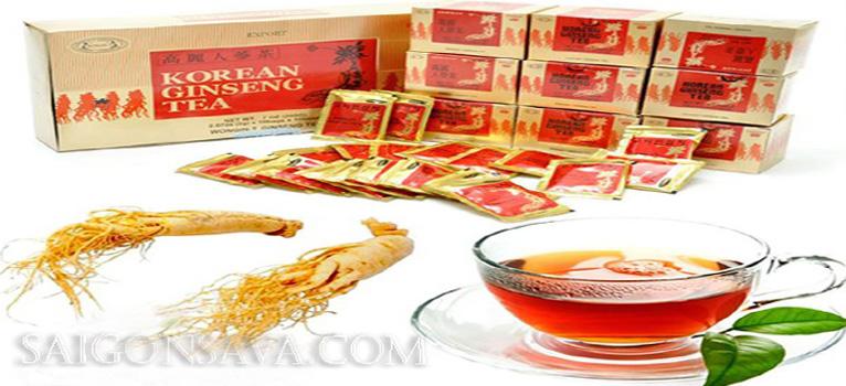 Công dụng của trà sâm Hàn Quốc – Cách dùng và cách bảo quản