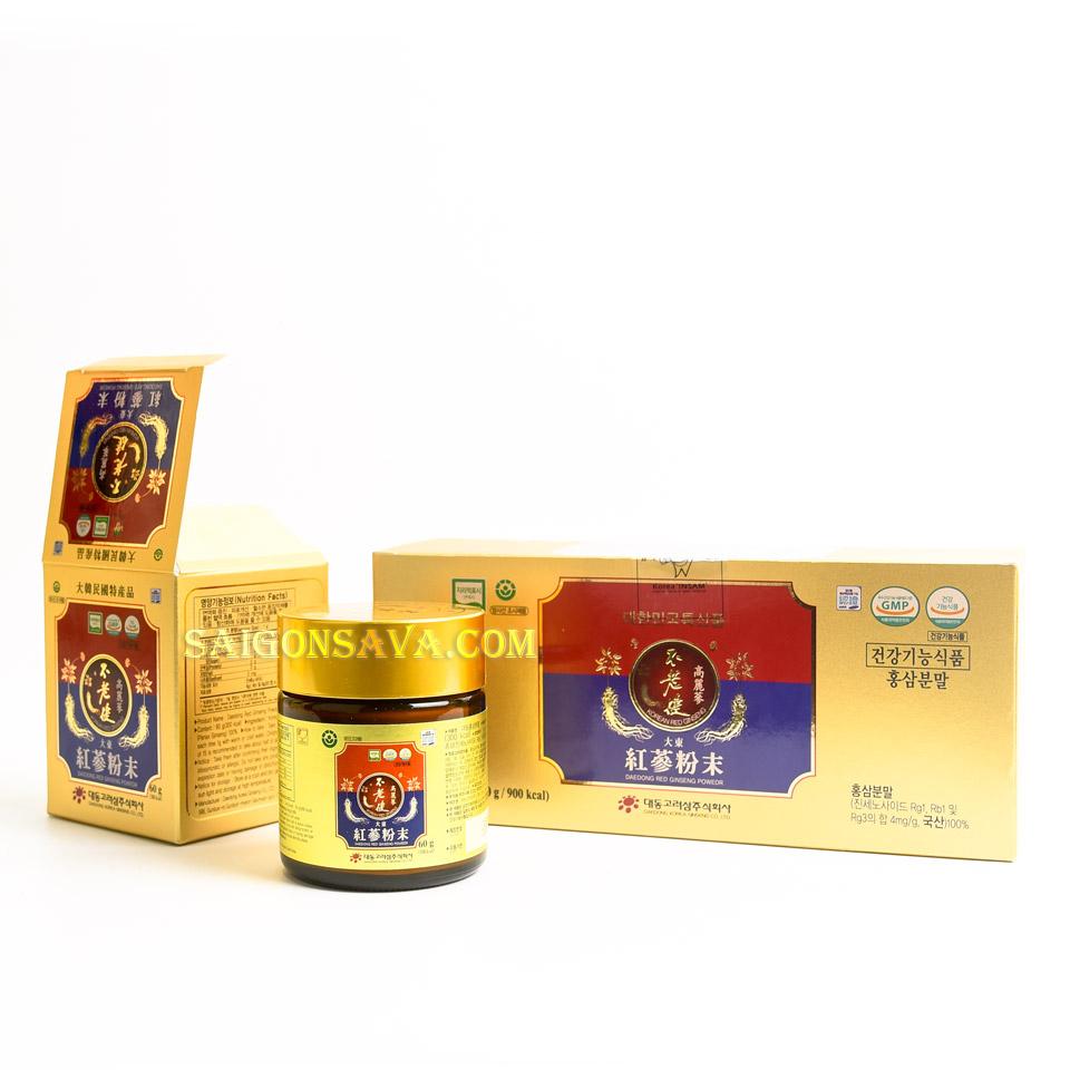 Bột sâm Hàn Quốc kết hợp với sữa cũng là một món ăn ngon được nhiều người lựa chọn